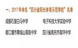 """四川省""""阳光体育示范学校""""""""艺术教育特色学校""""名单公布 我市两学校上榜"""