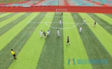 眉山24支队伍绿茵场竞技,为国际友城足球赛预热