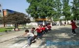 东坡区中店小学举行2018年春季运动会