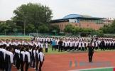 彭山二中2017级新生军训活动圆满结束
