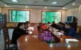 丹棱县教体局局长刘兵一行调研检查学校各项工作
