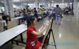 眉山市第二届师生书画大赛举行现场决赛
