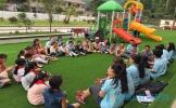 眉职院志愿者到丹棱王场小学开展夏令营支教活动