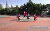 东坡区中职校开展班级篮球比赛 丰富校园生活