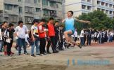 青神中学隆重举行2018年春季田径运动会