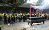 传承东坡文化 弘扬东坡精神 东坡区思蒙高中开展祭拜三苏活动