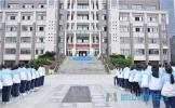 眉山车城中学举行2017-2018学年第一学期开学典礼