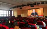东坡中学组织学习贯彻十九大精神中央宣讲团报告会