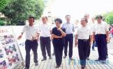 国务院教育督导委员会督导组检查指导东坡区实验中学开学工作