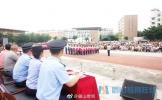 东坡区实验初中召开2020届新生军训汇报表演暨家长会