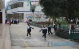 东坡区晋凤小学举行2017年冬季运动会