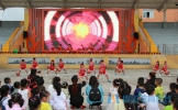 东坡区苏辙小学举行2017年秋季开学典礼