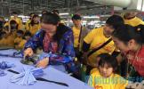 洪雅县第二幼儿园开展春季社会实践活动