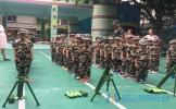 彭山区机关幼儿园200余名小小兵体验军事活动
