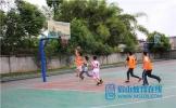 东坡区复兴初中开展篮球足球联赛活动