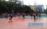 东坡中职校成功举行篮球比赛