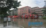 护学生安全 东坡区齐心协力排除校园涝患