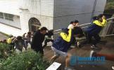东坡区思蒙高中开展应急疏散演练活动