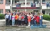 丹棱镇小学举行首届退休教师欢送会