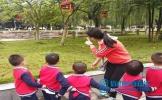 洪雅县实验幼儿园开展秋游活动