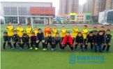 仁寿县城北小学与足协青训梯队进行足球交流赛