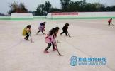 仁寿县成立首支小学女子曲棍球队