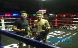 45秒KO对手 眉山搏击小将金夕淼征战泰国