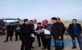 仁寿县委副书记杨建现场办公 推进教育项目建设有序进行