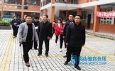 丹棱县委副书记李祝才带队检查学校安全工作