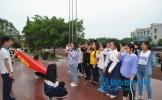 """东坡区松江中学举办纪念""""五四""""100周年诗歌朗诵比赛"""