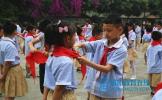 丹棱县丹棱镇小学举行新队员入队仪式