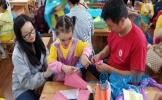 东坡区崇礼小学附设幼儿园开展庆六一亲子活动