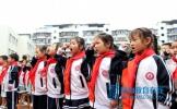 仁寿县文林三小开展庆祝建国70周年及书香校园展演活动