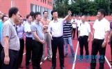 开学在即 罗佳明市长一月三到新建学校看细节