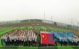 扬新帆 百坡中学举行新学期开学典礼