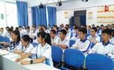 仁寿县坝达初中开展第七届学生会干部竞选演讲比赛