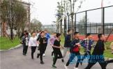 东坡区百坡中学举行应急疏散演练活动