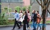 东坡区研培中心专家组到百坡中学教研指导
