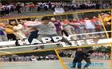 东坡中学举行教师趣味运动会