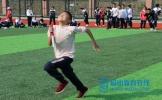 百坡中学举行首届秋季运动会