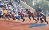 眉山车城中学举行第45届运动会