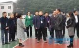 四川省教育厅领导到龙正小学督导检查工作