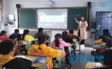 东坡区悦兴小学举行秋季校本教研及新教室课堂展示活动
