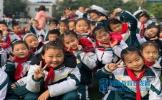 仁寿县龙正小学举行第25届冬季田径运动会