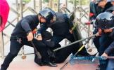 东坡区象耳小学举行应急救援队伍练兵活动