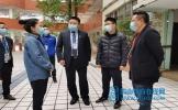 仁寿县政府、县教体局检查指导坝达初中开学复课筹备工作