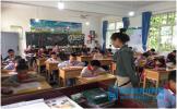东坡区教体局调研晋凤小学疫情复学后教育教学工作