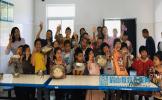 东坡区五峰小学开展包饺子庆六一活动