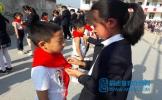 东坡区土地小学举行2020年少先队新队员入队仪式