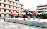 东坡区多悦初中举行2020年新发展团员入团仪式